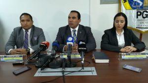 El fiscal  Rafael Baloyes, y su equipo, llevan adelante las investigaciones en el caso Punta Pacífica. FOTO/ Ministerio Público